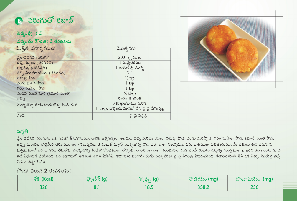 Telugu Recipes For Kidney Patient By Renal Care India Pdf Document