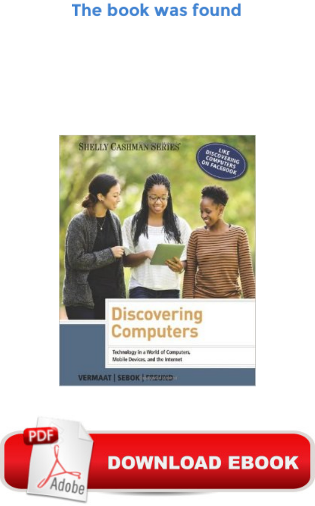 Discovering Computers 2014 Shelly Cashman Discovering Computers 2014 Shelly Cashman Series Discovering Pdf Document