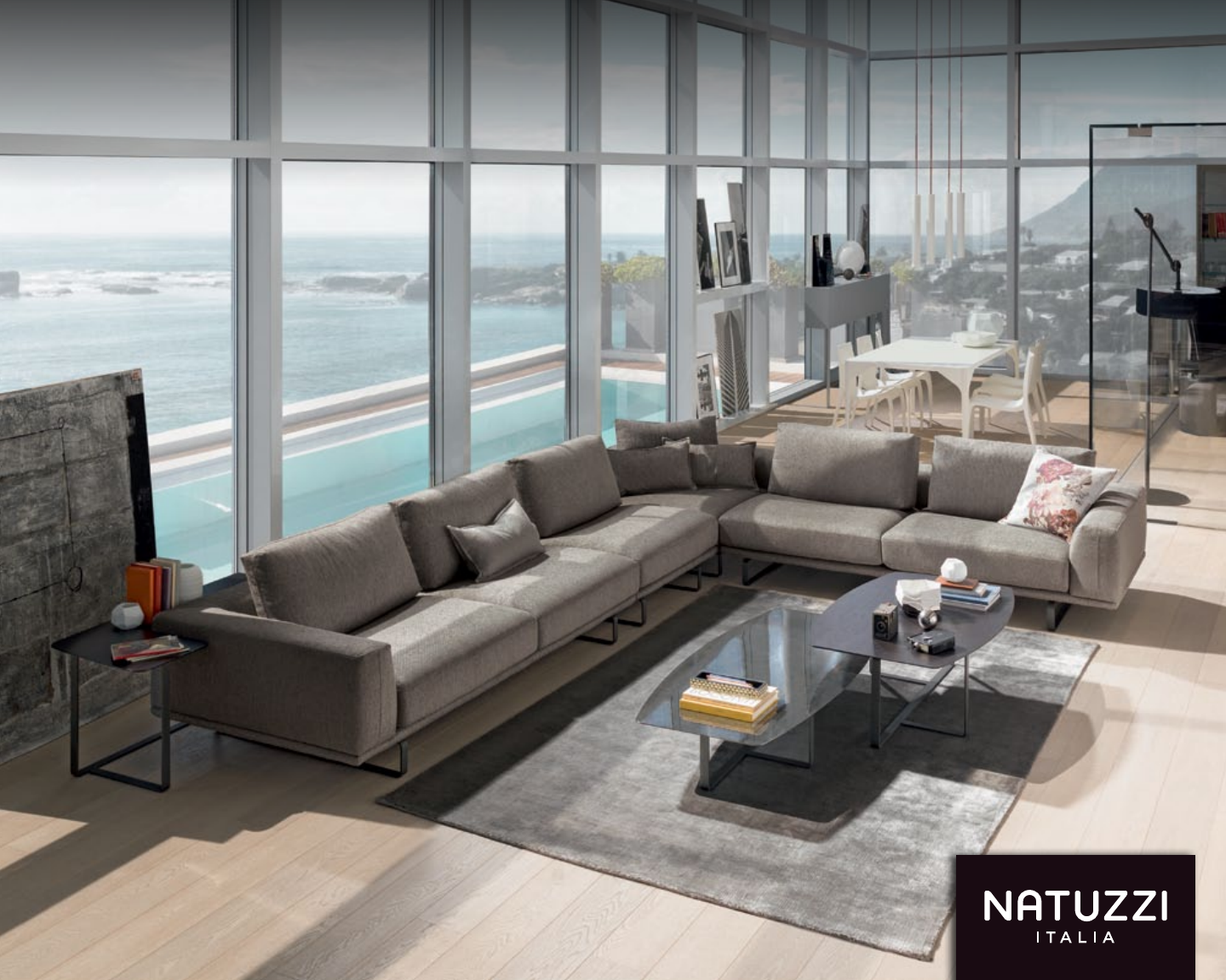 Picture of: Quick Time Time Program By Natuzzi Italia Sofas 4 Quicktime Quicktime 5 Avana Available Finishes Cream Pine Cream Laquer