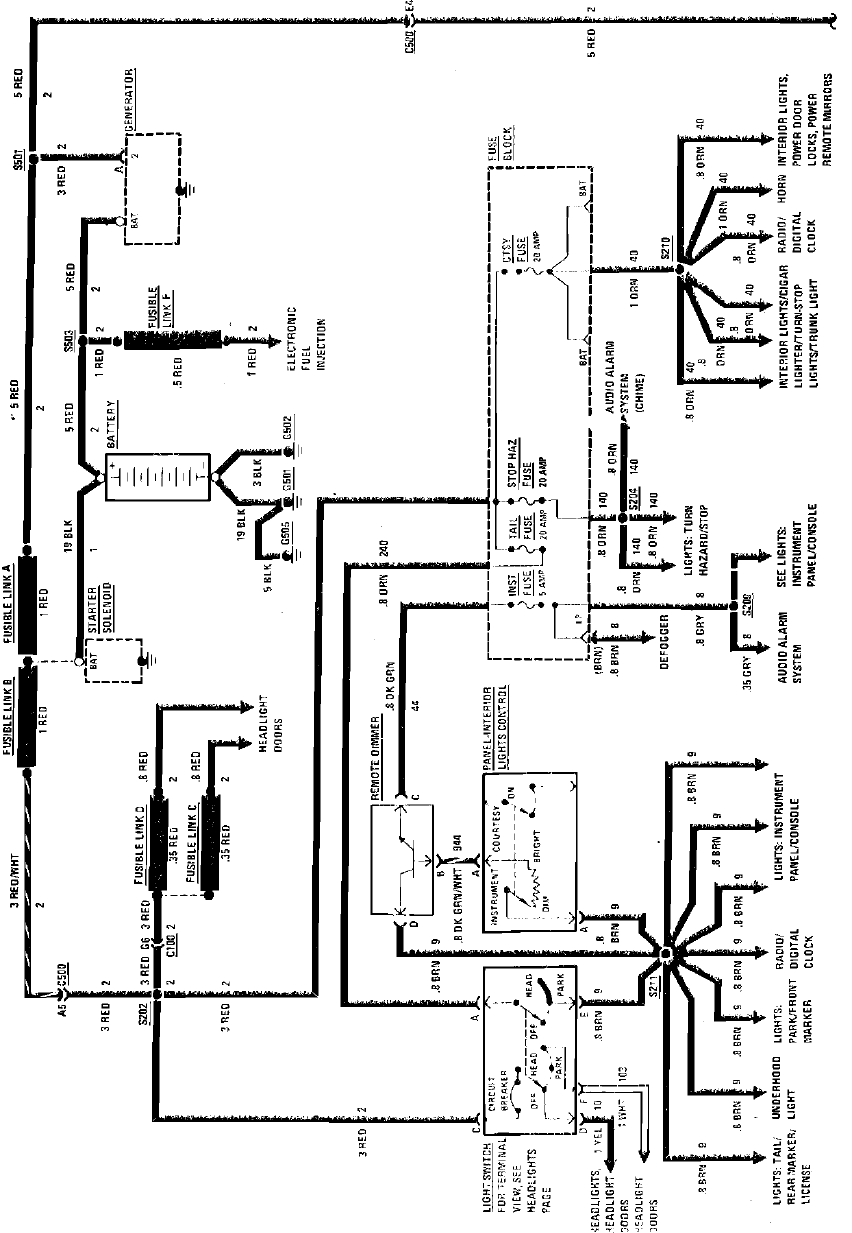 1984 Fiero Electrical Diagrams System Charging System Wiring Circuit 1984 Pontiac Fiero 4 151 2 5l1984 Pontiac Fiero 4 151 2 5l Pdf Document