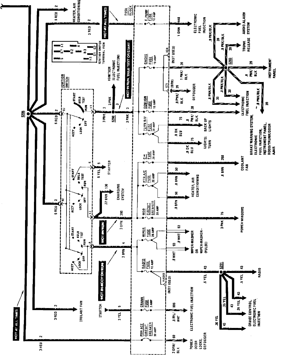 1984 Fiero Electrical Diagrams - System Charging System Wiring ...  FDOCUMENTS
