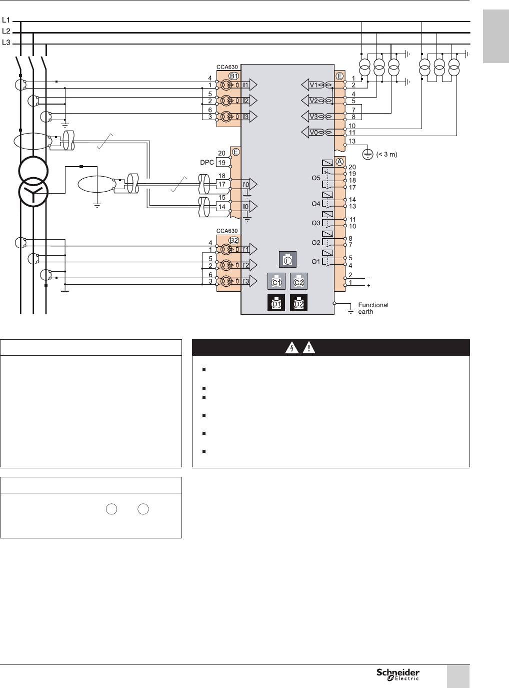 Wiring Diagram - SEPAM Series 80.pdf - schneider .ANSI 87T and 87M  differential protection functionsPDFSLIDE.NET