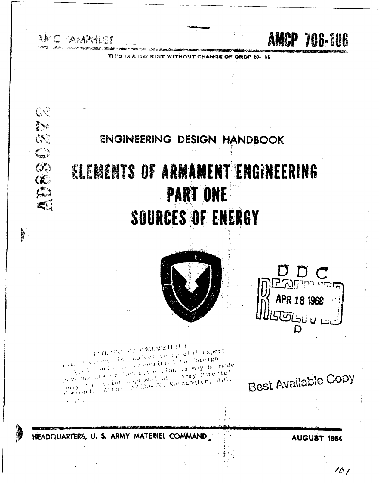 Armament Engineering