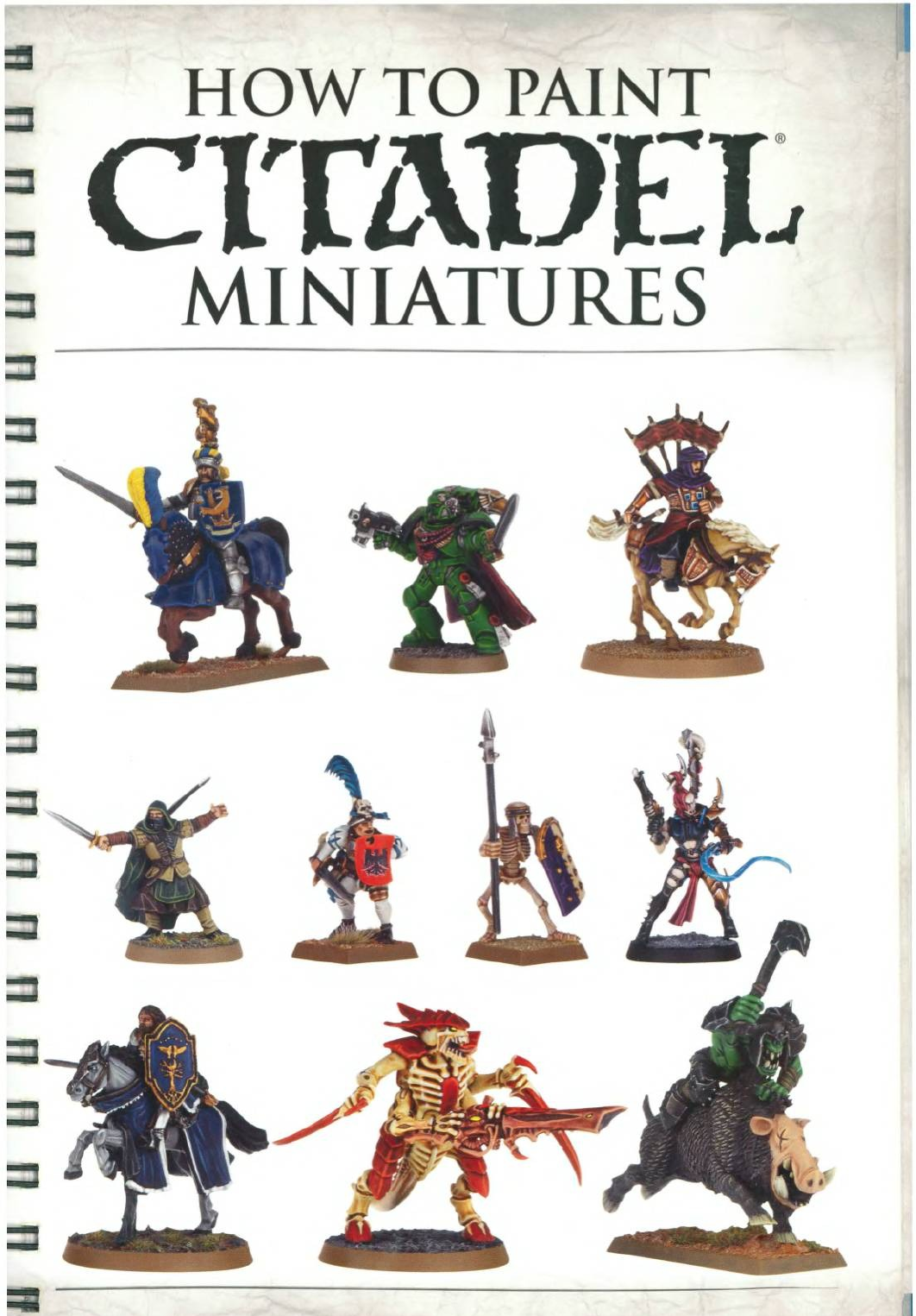 How To Paint Citadel Miniatures 2012 Pdf Document