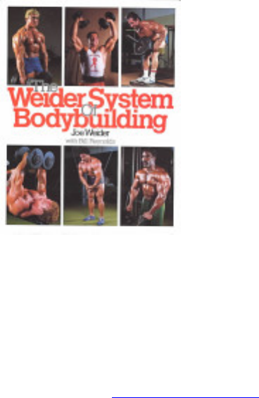 Download The Weider System Of Bodybuilding Joe Eduln Org 22614 Pdfthe Weider System Of Bodybuilding Joe Weider Bill Reynolds Contemporary Books 1983 And Body Part Exercises Arnold S Bodybuilding For Men