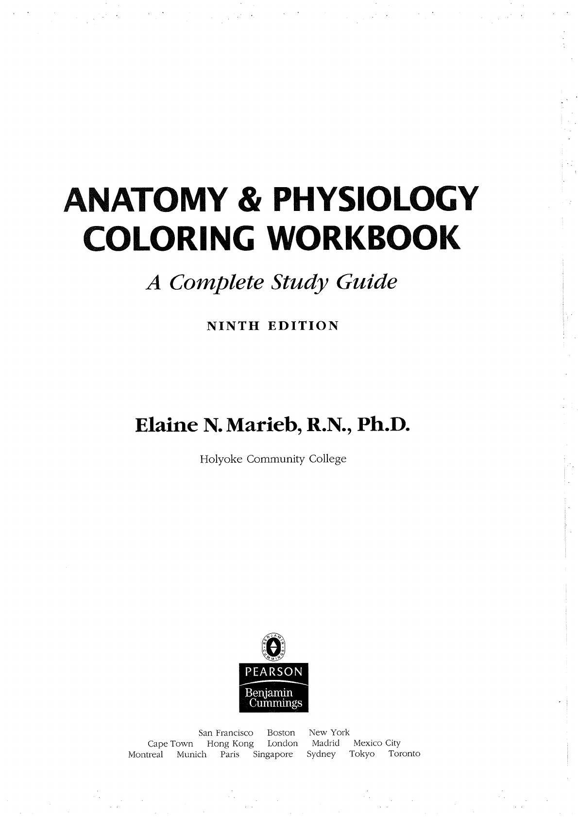 Physiology Coloring Book - [PDF Document]