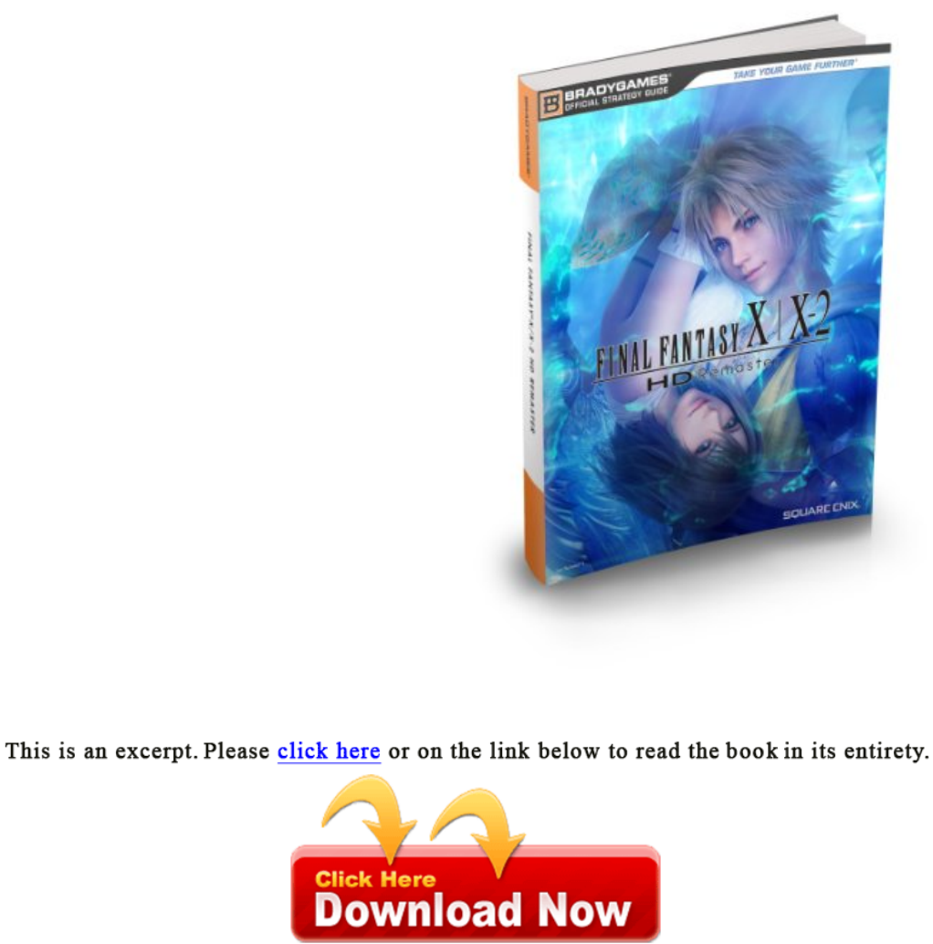 Final fantasy x-x2 hd remaster official strategy guide download