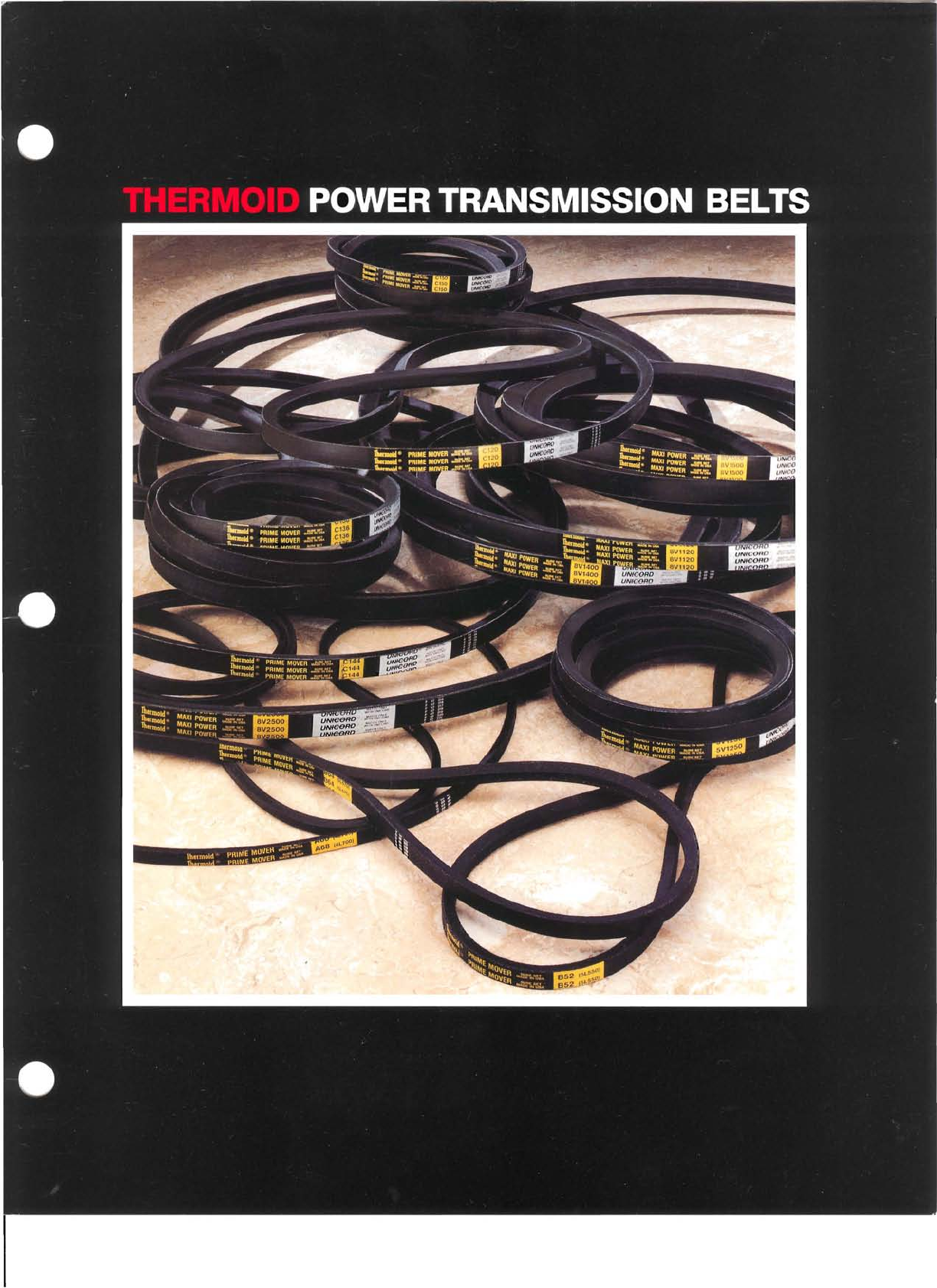 USA Made Thermoid 3L320 V-Belt