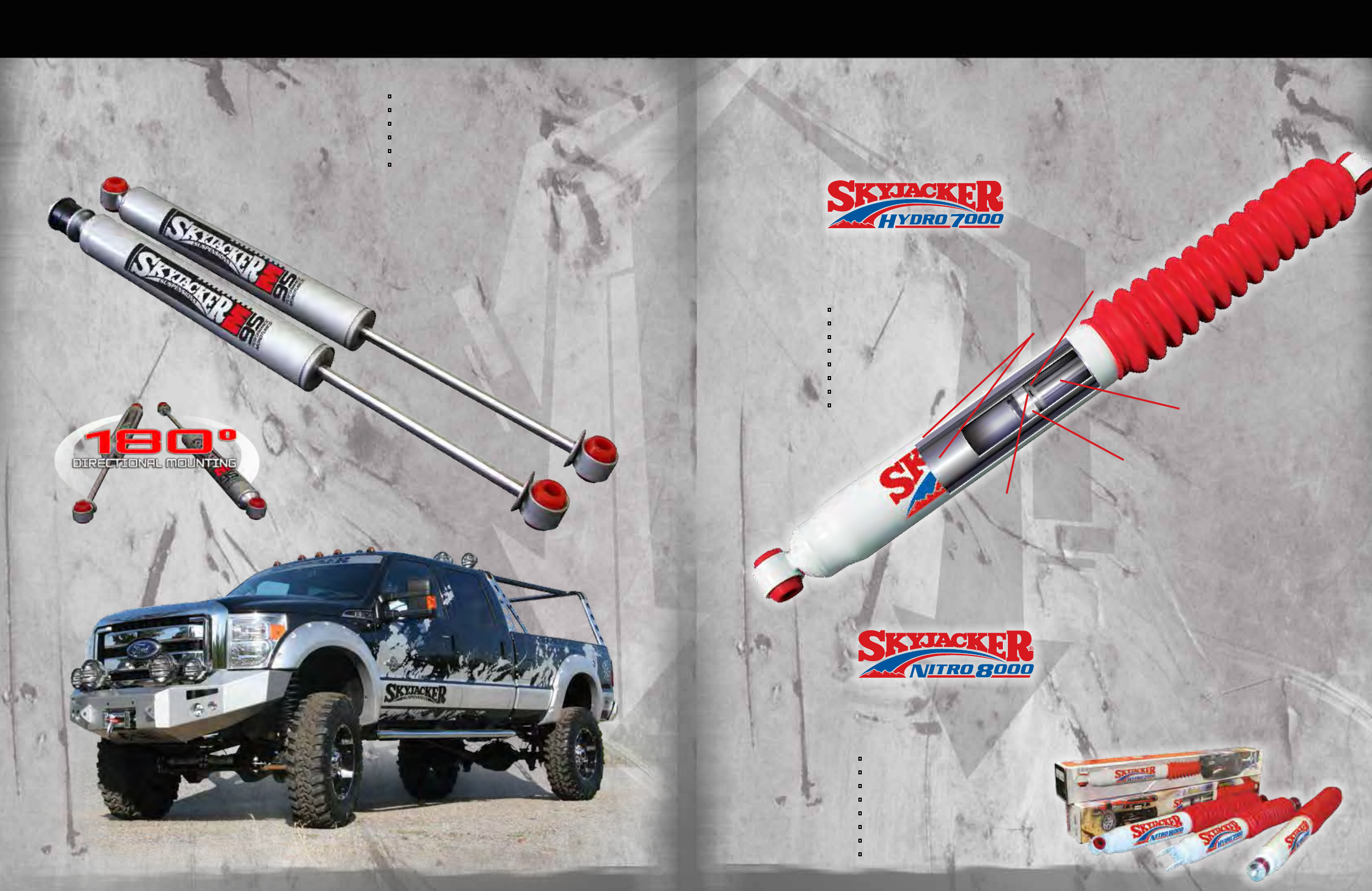 Front Coil Springs; Rear Add-A-Leafs Lift Kit-Suspension; Suspension Lift Kit; 1.5-2 in Lift; Incl Skyjacker 172EPK Lift Components