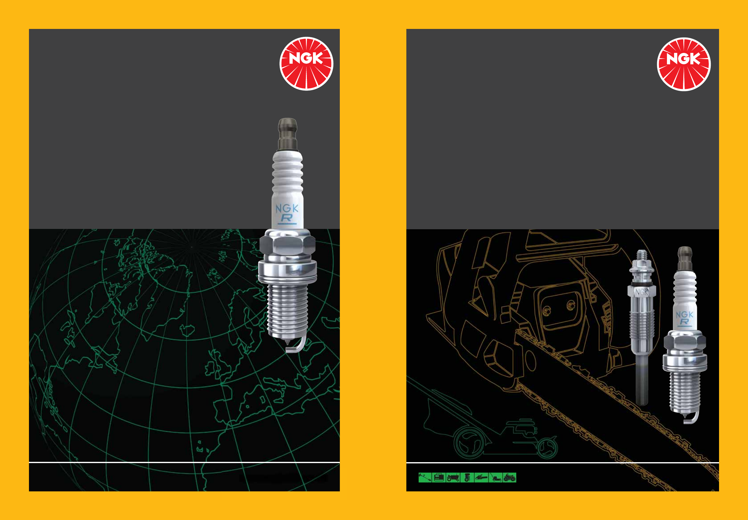 Special Type Spark Plug For 2012 Can-Am Outlander 650 EFI XT~NGK Spark Plugs