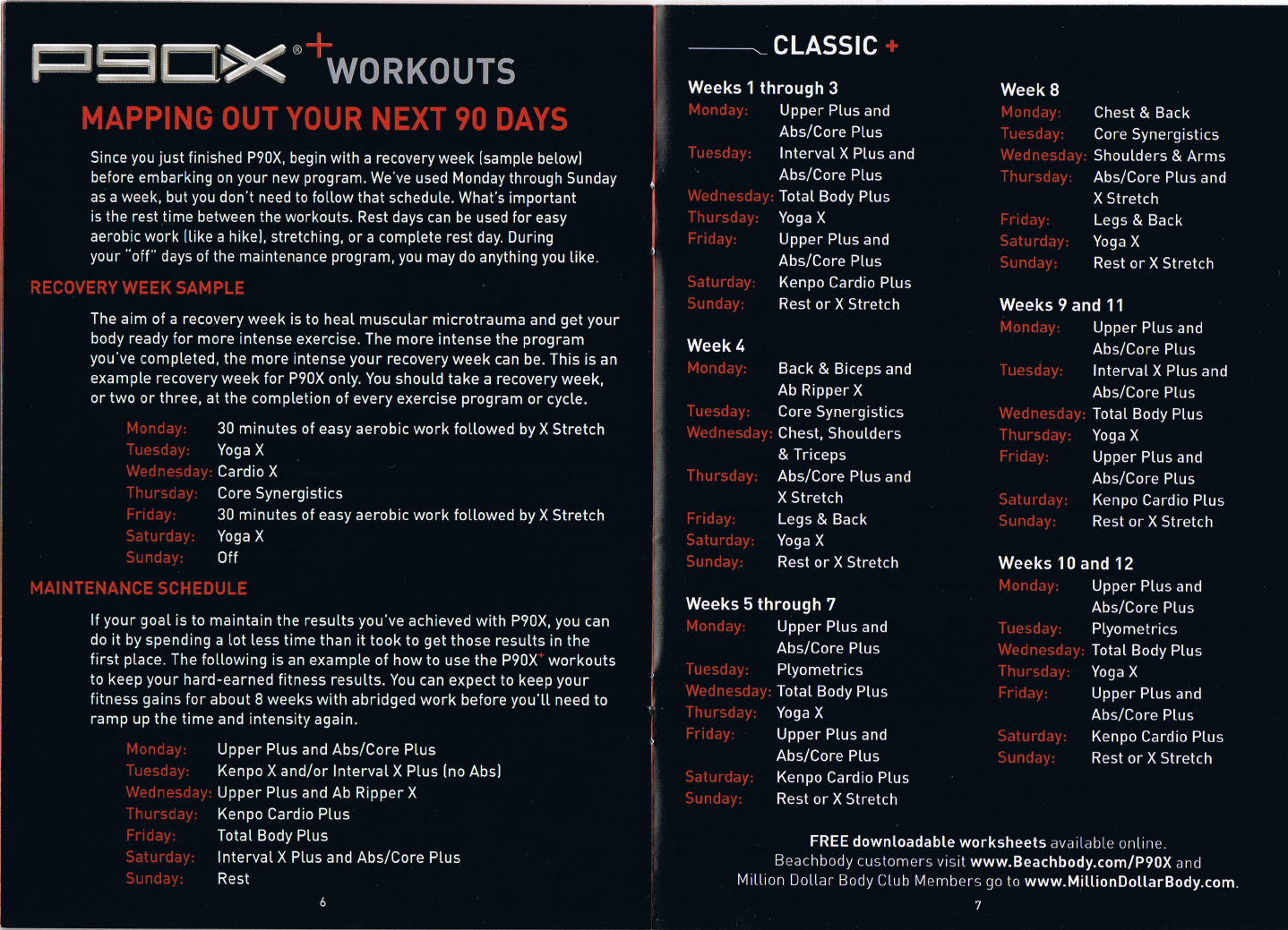 P90x diet plan phase 1 pdf