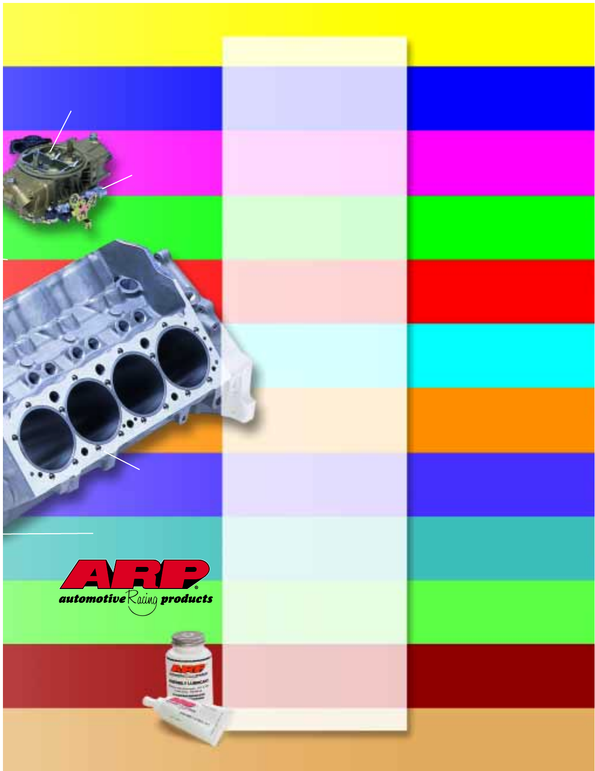 ARP 434-2001 Hex Head Stainless Steel Intake Manifold Bolt Kit Small Block Chevy