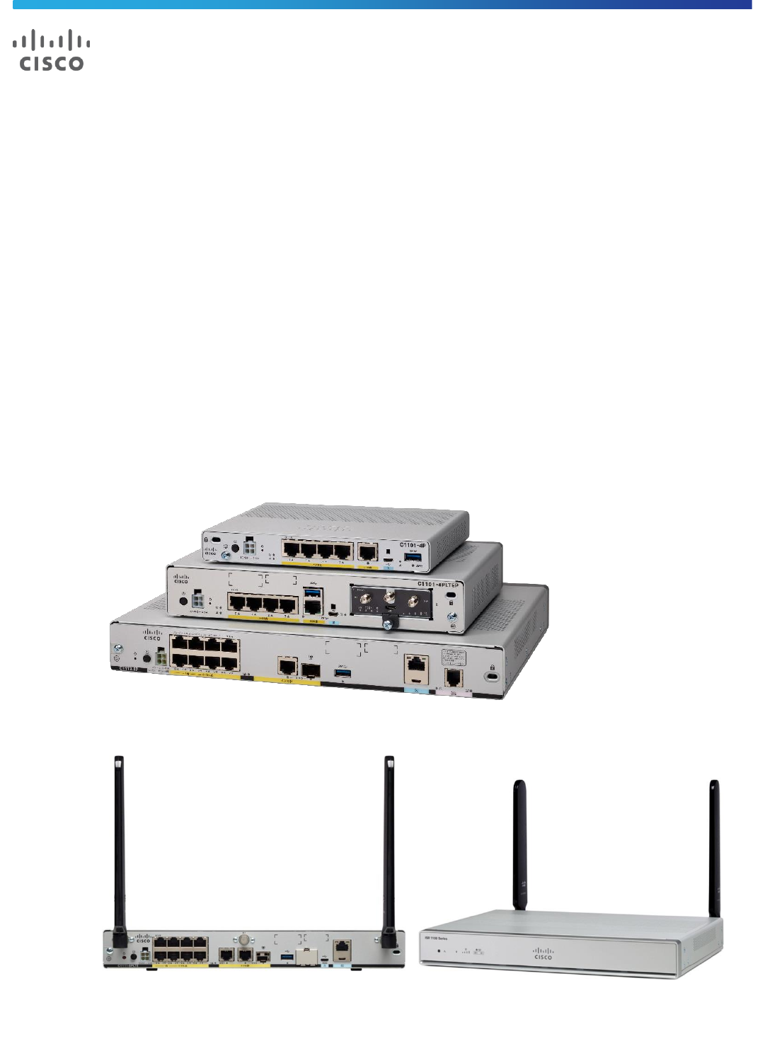 Cisco 1100 Series Integrated Services Routers Data Sheet