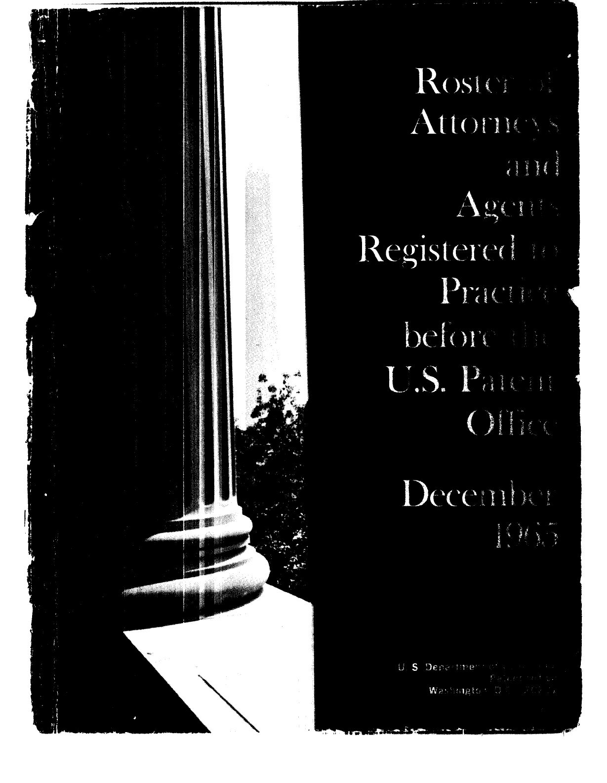 Roster Of Attorneys 1965pdfroster Of Attorneys And Agents