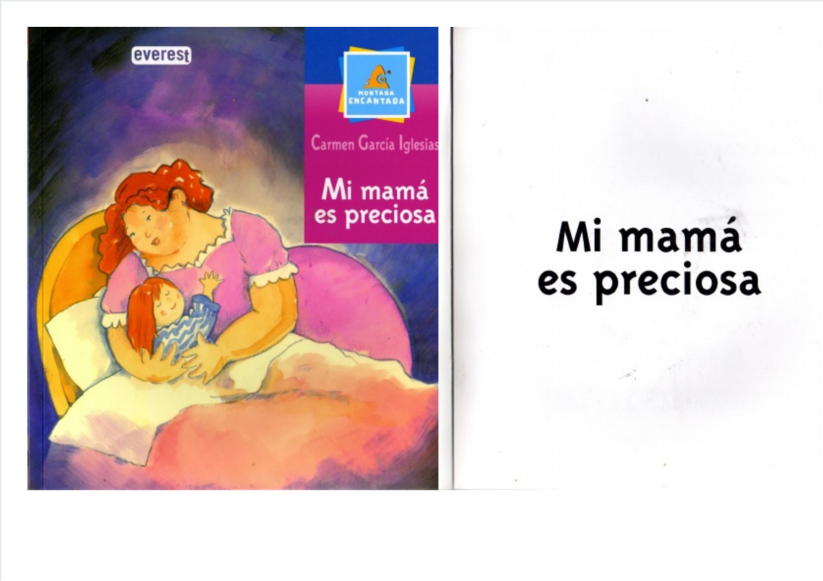 Mi Mamá Es Preciosa Pdf Document
