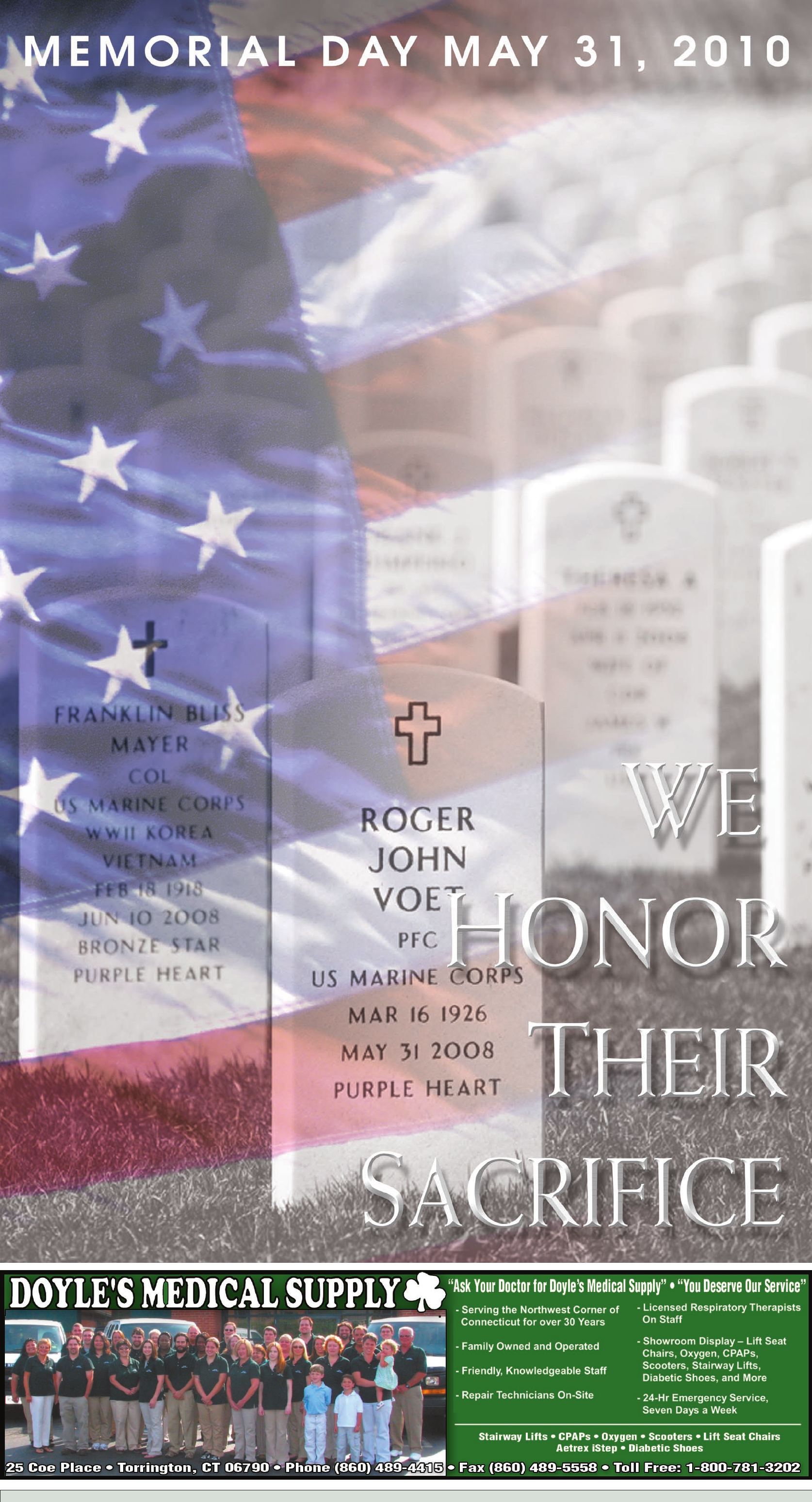 Memorial Day Iraq And Afghanistan Fallen Soldiers