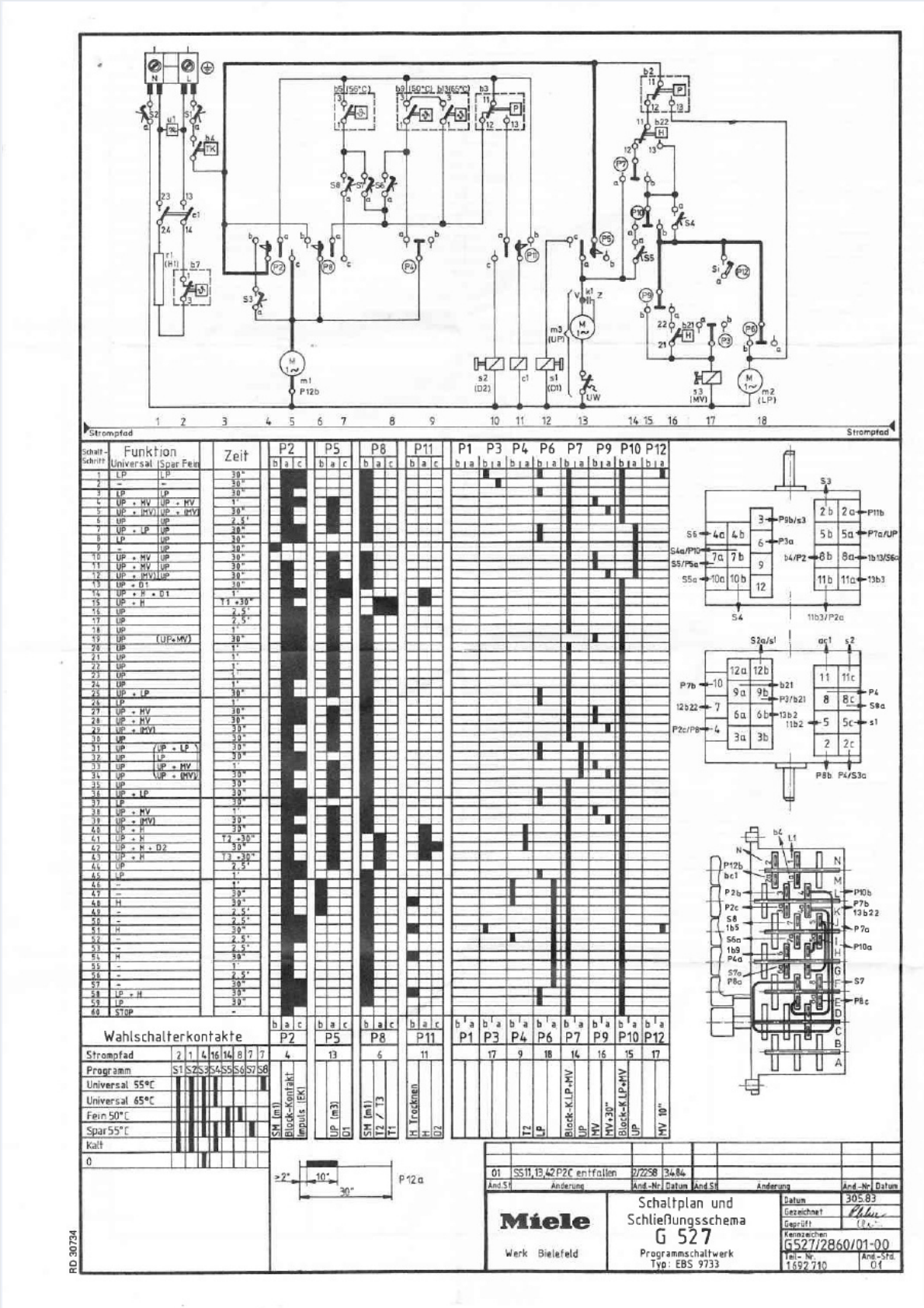 Wiring Diagram Dishwasher