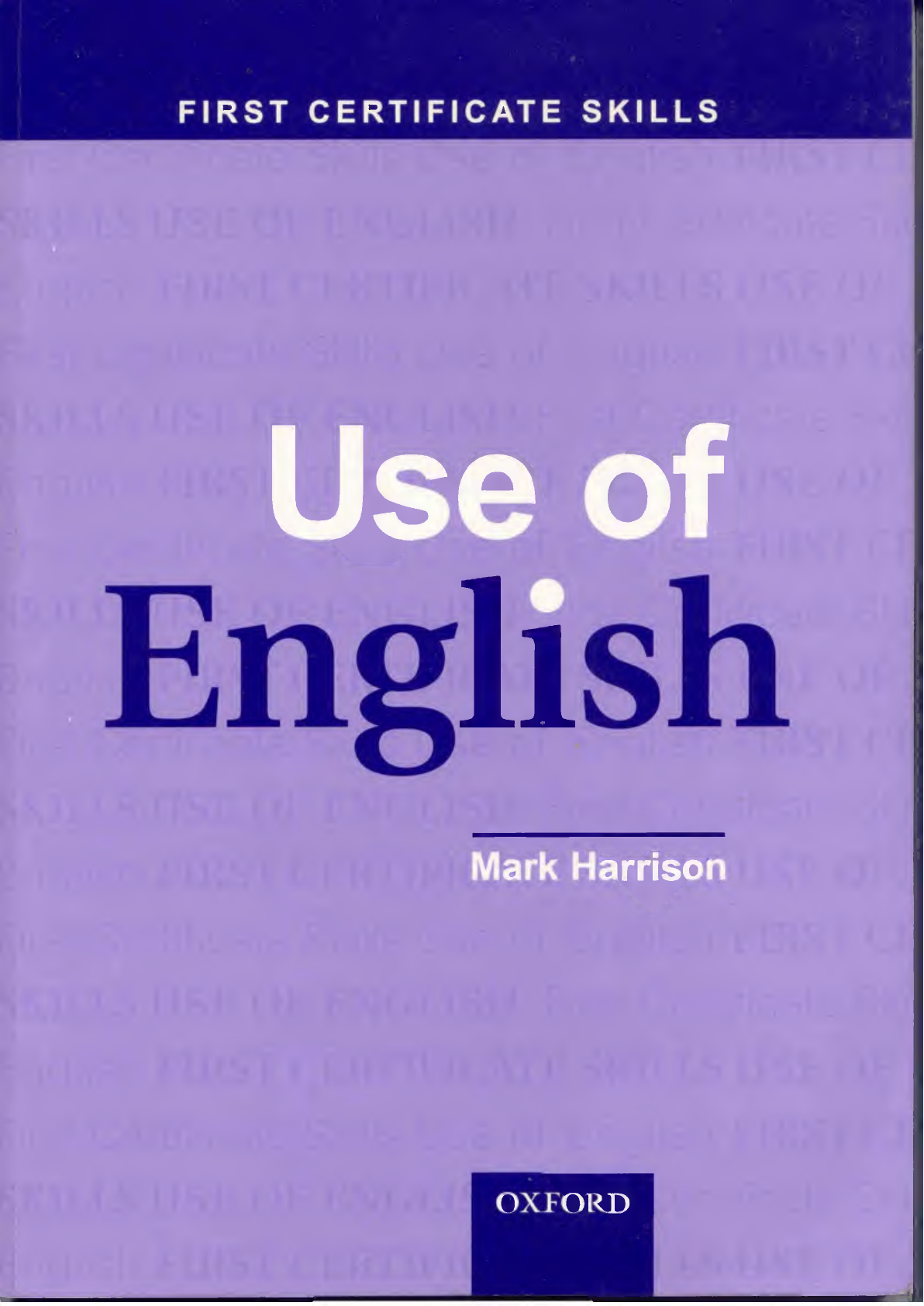 Use Of English Oxford Mark Harrison Pdf Document